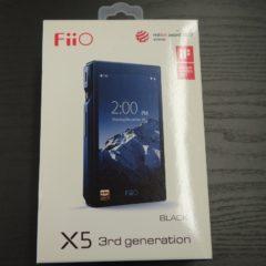 Fiio X5 3rd generation ブラック 使用時間数分の代物! 詳細はこちらをクリック